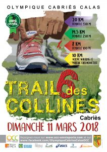 Trail des 6 Collines 2018 @ Cabriès | Cabriès | Provence-Alpes-Côte d'Azur | France