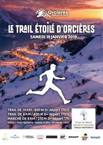 1° Trail Etoilé d'Orcières Merlette 2019 @ Orcières Merlette
