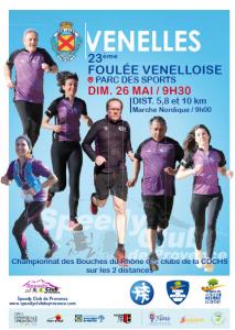 Foulée Venelloise 2019 @ Venelles