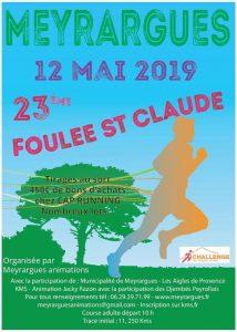 Foulée St Claude 2019 @ Meyrargues
