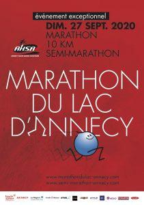 Marathon d'Annecy 2020 (annulé Covid-19) @ Annecy
